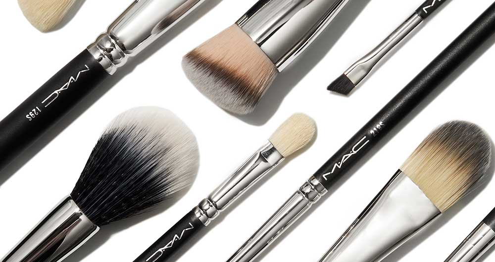 mac makeup brush set brown thomas