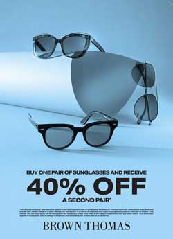Sunglasses 50% off